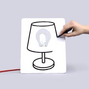 Лампа электрическая Drawlamp