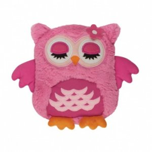 Игрушка-грелка Snuggle Me Розовая сова