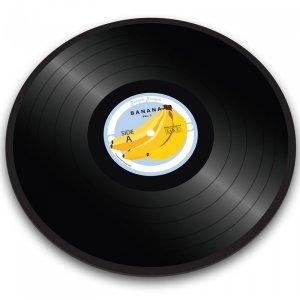 Доска для резки Banana vinyl record